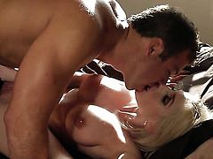 Fuck crazed doll Christie Stevens cant wait to be banged in her mouth by hard dicked guy