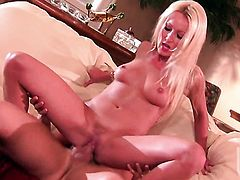 Diana Doll shows her cock sucking talents in oral action with hot bang buddy