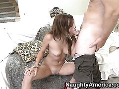 Melanie Rios gets ploughed in her vagina by Jerry