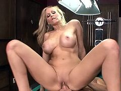 Big-Titted mom id like to fuck Julia Ann makes love onto pool table