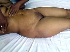 hot indian babe gets a massage