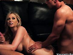 Exotic Julia Ann having sex fun with hard cocked guy Rocco Reed