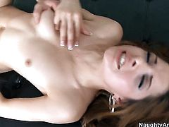 Charles Dera uses his erect tool to bring Latin Evilyn Fierce to the height of pleasure