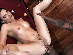 Danica Dillon makes her dirty dreams a reality with dudes man meat in her mouth