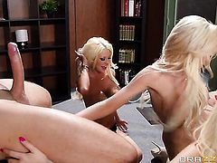 Nikki Benz with giant tits gets orally fucked by Keiran Lee s beefy mouth stretcher