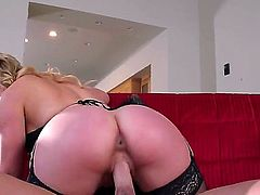 Ike Diezel is getting seduced by his neighbor. The poor guy does not get enough ass from his wife, so the neighbor milf sees her opportunity to get some dick. Huge ass