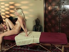 Cadence Lux Fucked During a Massage
