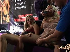 Strikingly hot blonde Bree Olson loves being the center of attention