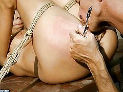 Vivien Bianchy has some dirty sex fantasies to be fulfilled