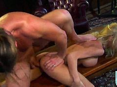 Katie Morgan has some dirty fantasies to be fulfilled with guys sturdy fuck stick in her mouth
