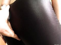 Monica Santhiago loses control in fucking frenzy with horny guy Kid Jamaica