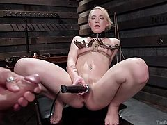 she likes being tied and tortured