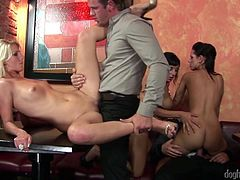 One on one is nice, and a gangbang is even nicer, but nothing really tops the charts quite like an orgy. Cocks being sucked and pussies being licked, and fucked all over the place, without regard to regular partners, is the ultimate in sexual excitement and depravity. Carnal fantasies cum true here.