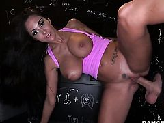 Ava Addams does a glory hole