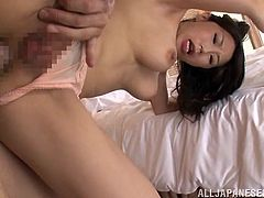 japanese slut takes thick cock deep in her ass