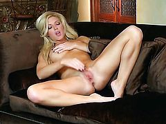 Niki Young sticks sex toy in her twat