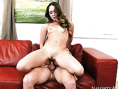 Asian Remy LaCroix spends her sexual energy with Van Wyldes hard tool in her bush