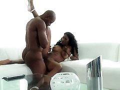 Nyomi Banxxx has fire in her eyes as she takes cum shot on her eager face