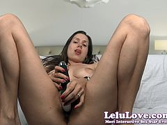 Lelu Love-Vibrator On Clit Dildo In Pussy BIG Orgasm