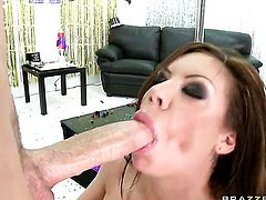 Scott Nails plays with amazingly sexy Mason Moores chocolate speedway after he fucks her hole with his erect dick