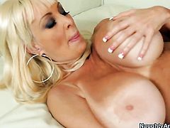 Bill Bailey is horny and cant wait any more to screw nasty Brittany ONeils pussy hole with his throbbing meat pole