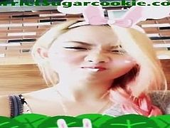 Harriet Sugarcookie is a Easter Bunny who likes to fuck like a bunny 4 work