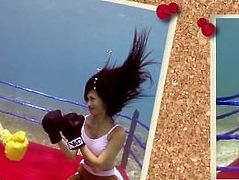 I ❤ ANGIE VU HA Underwater Boxing Sizzle 2