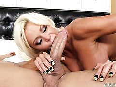 Nikita Von James with gigantic boobs gets shagged to orgasm by Xander Corvus