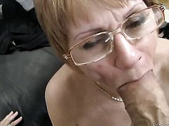 Rocco Siffredi uses his meaty tool to bring blowjob addict to the height of pleasure after she gets fucked in her butthole