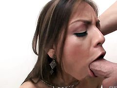 Yurizan Beltran has vigorous anal sex