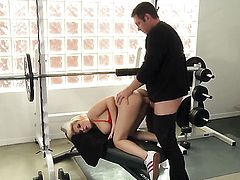 Madison Ivy makes gent ejaculate