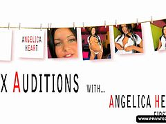 angelica heart has her audition and performs her first sex scene