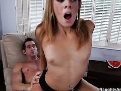 Andi Ashton gets the pleasure from fucking with Billy Glide like never before