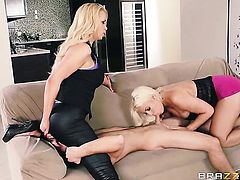 Nasty senora harlot Nikki Benz gets her dripping wet hole fucked by Logan Pierce