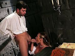 Samantha Saint makes her fuck buddy unload his gun after sex