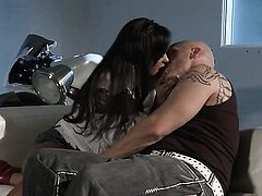 Kaylani Lei shows her love for love cream in wild cumshot action