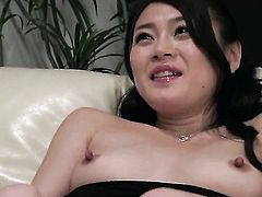Milf Kyoko Nakajima touches her love hole six ways from Sunday