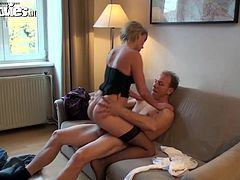 We specialize in amateur content because it is more real. We feature real people having sex and that is why it is so natural. A real German couple going for it and pleasurin geach other first time on camera.