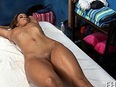 Hotty gets all holes gangbanged