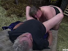 german amateur mature farmers