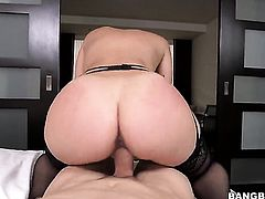 Remy LaCroix is riding a dick