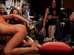 Kayla loves the blowjob movies