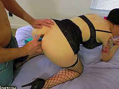 Ass To Mouth And Deepthroat   Angie Noir 674
