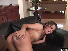 Kristina Rose is the LA face with an Oakland booty. She bends over to Rico can stick his huge black dick into her willing asshole. She eagerly bounces up and down on it before he cums right in her pretty mouth. Kristina loves interracial sex and big black dicks especially when they are splitting apart her back door