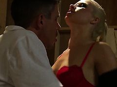 Anikka Albrite wants mans ram rod to fuck her mouth