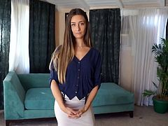 Slutty property agent Cassidy Klein just loves getting rammed from behind