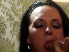 Alektra Blue gets mouth banged the way she loves it