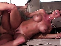 Beautiful sweetie Raquel Devine sucks dudes fuck stick with wild desire