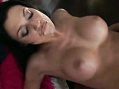 Aletta Ocean is good on her way to satisfy her fuck buddy with her sweet mouth