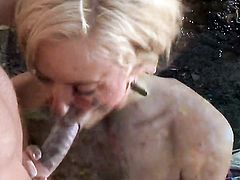 Victoria White cant stop sucking in steamy oral action with hard dicked fuck buddy